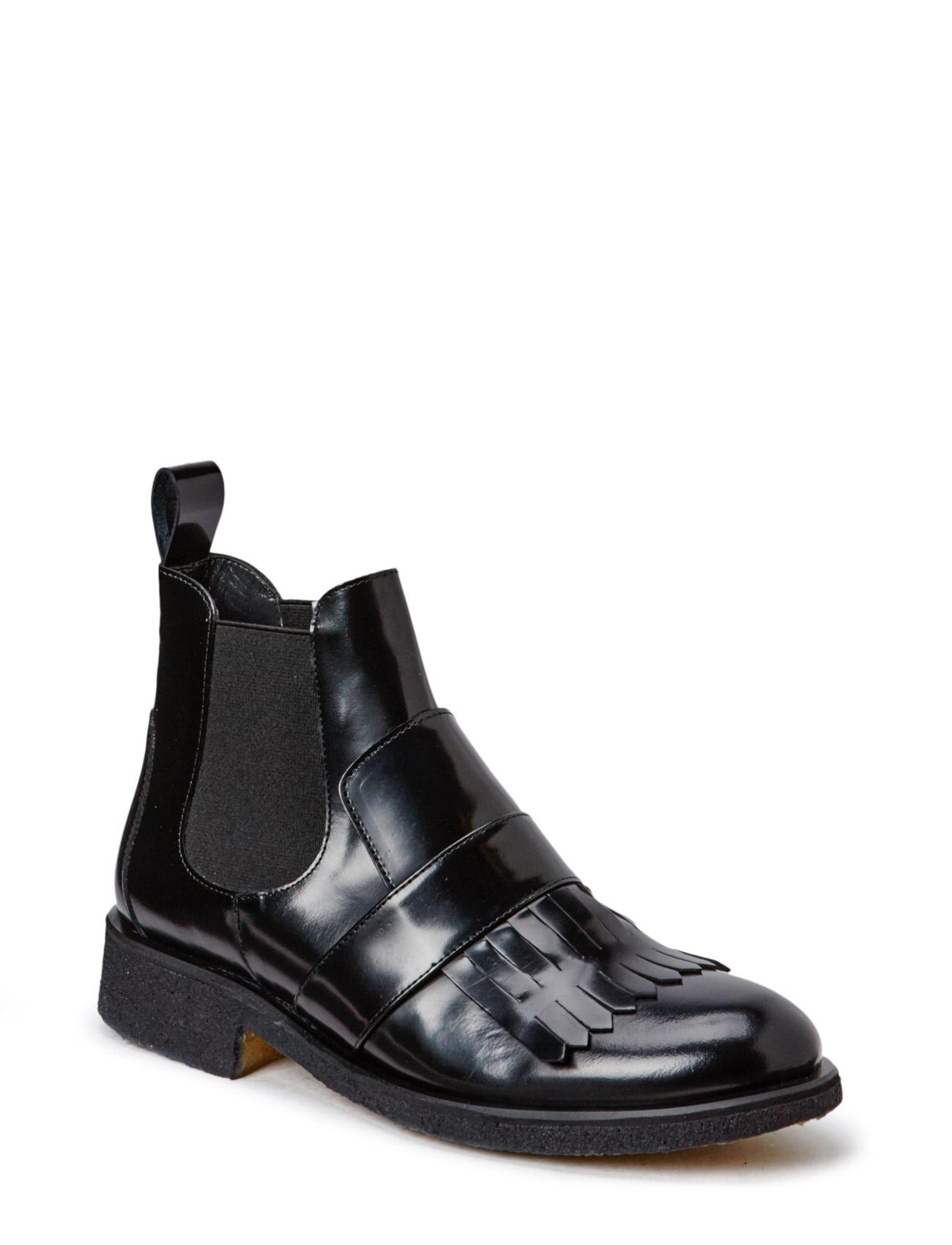 Modern Chelsea With Fringe Detail ANGULUS Støvler til Kvinder i