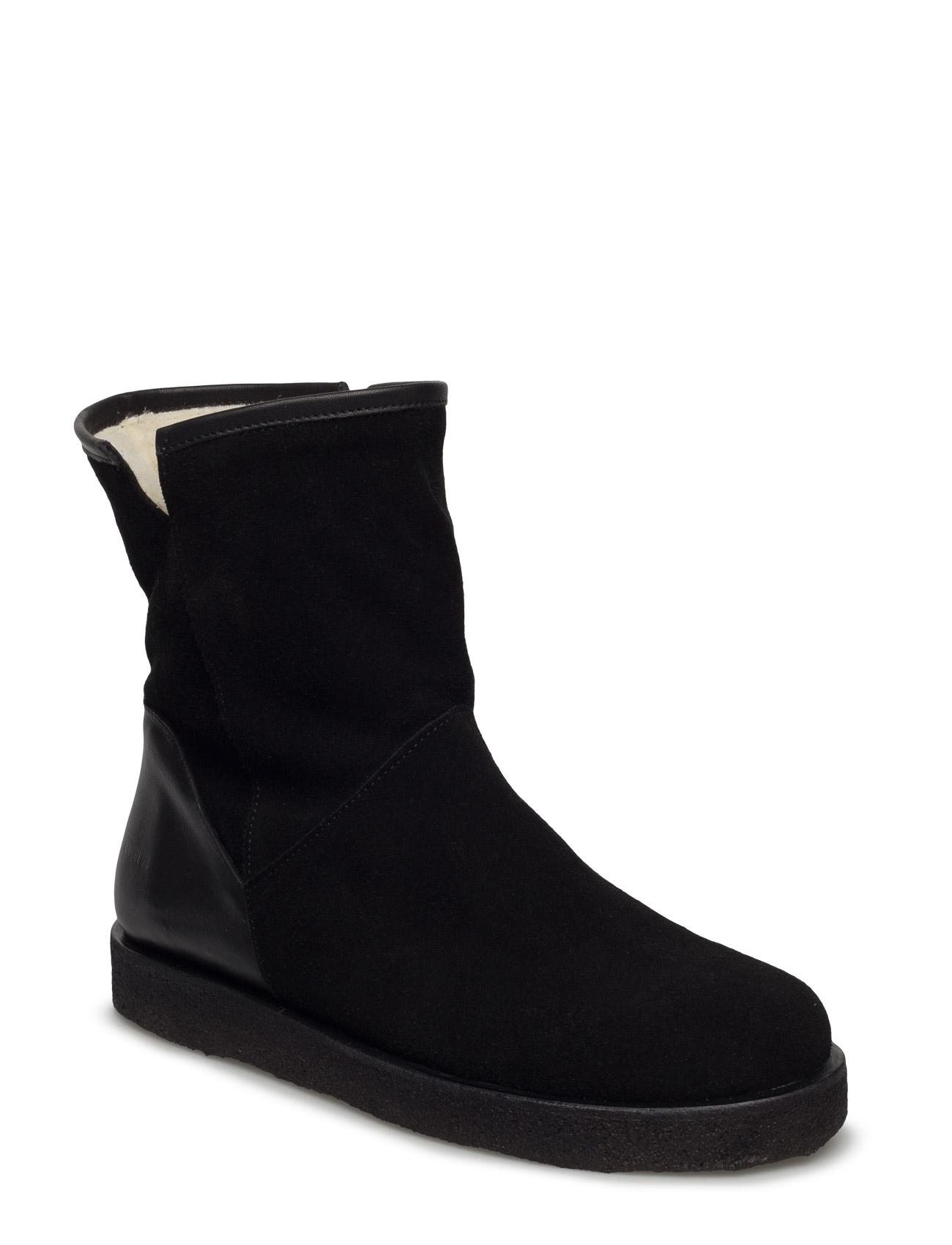 Boots - Flat ANGULUS Sko til Kvinder i Sort