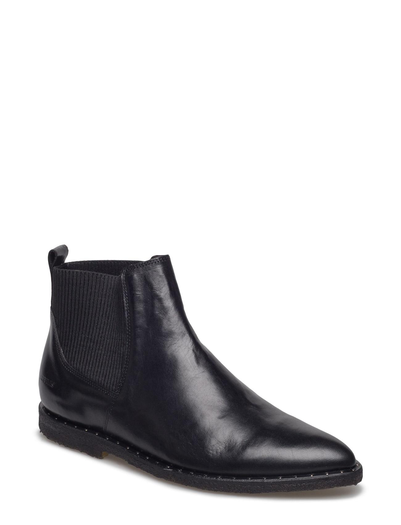 Booties - Flat - With Elastic ANGULUS Støvler til Damer i