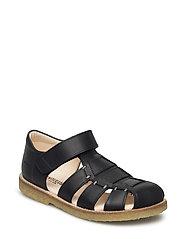 Sandals - flat - 1652 BLACK