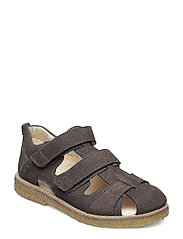Sandal with velcro closure - 2613 GREY