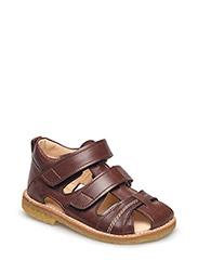 Sandals - flat - 1562 ANGULUS BROWN
