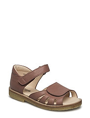Sandals - flat - 1985 OLD CORAL