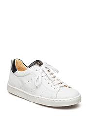 Sneakers w. lace - 1521/1604/1604 WHITE/BLACK/BLA