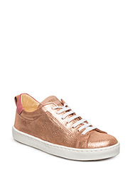Sneakers w. lace - 2423/1533/2169 ROSE GLITTER/PEACH/RASPBERRY