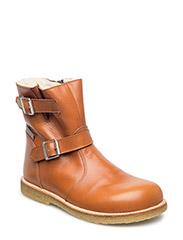 Boots - flat - COGNAC/COGNAC