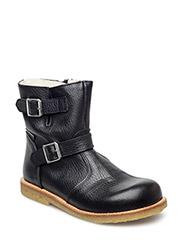 Boots - flat - BLACK/BLACK