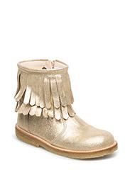 Boots - flat - 2458 GOLD GLITTER