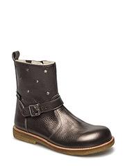 Boots - flat - zipper - 1541/1325/2613/003 BRONZE/CHAM