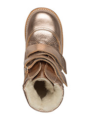 Boots - flat - with velcro