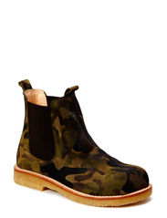 Chelsea boot - 1122/002 Green army/Brown