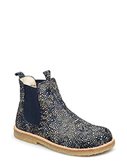 Chelsea boot - 2463/027 BLUE CIRCLE PRINT/NAVY