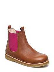Chelsea boot - 1431/033 COGNAC/PINK