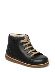 Boots - flat - with laces - 1639 DARK MOSS-GREEN