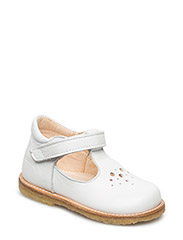 ***T - bar Shoe*** - 1521 WHITE