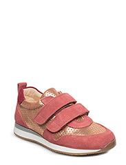 Classic sneakers w. velcro - 2169/2423/2166 ROSE/R.GLITTER/MAGENTA