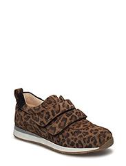 Classic sneakers w. velcro - 2164/2164/1163 BROWNEO/B.LEO/B