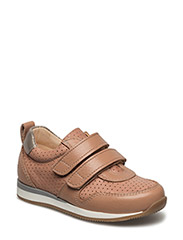 Classic sneakers w. velcro - 2552/1533/2109 DUSTY ROSE/PEAC