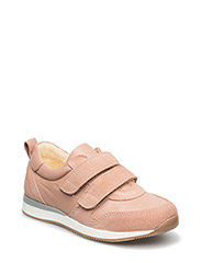 Classic sneakers w. velcro - 1196/1533 ROSE/PEACH