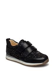 Shoes - flat - 1933/2178 BLACK/ BLACK W. DOT