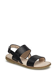 Sandal w. buckle - 1785 BLACK