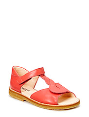 Sandal with open toe - 2408 Coral red