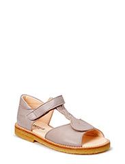 Sandal with open toe - 2416 Grayish purple