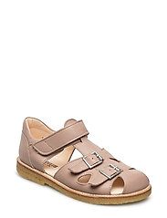 Sandal with two buckles in front - MAKE-UP