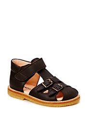 Sandals - flat - 1660 DARK BROWN