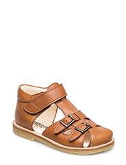 Sandals - flat - 2415 COGNAC