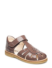 ***Sandals*** - LIGHT PLUM (narrow)