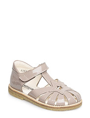 Sandals- flat  - closed toe - closed counter - 1387 ROSE