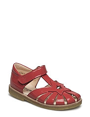 Sandals - flat - closed toe -  - 1395 DARK CORAL