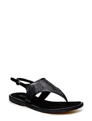 Sandal with crepe sole - 1604 Black