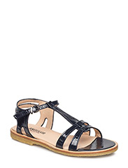 Sandal with leather sole - 1392 NAVY