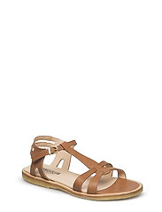 Sandal with leather sole - 1789 TAN