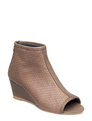 Sandals  - wedge -open toe -closed counter - 1252/2446 DUSTY BROWN/NOUGAT REPTILE