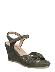 Sandals - wedge - open toe -  - 2165 ARMY GREEN