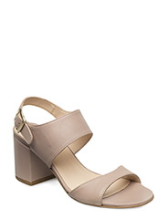 Sandals - block heels - open toe - 1433 MAKE-UP