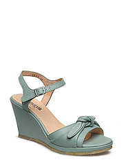 Sandals  - wedge -open toe -closed counter - 2412 DUSTY MINT