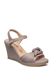 Sandals  - wedge -open toe -closed counter - 2416 GRAYISH PURPLE