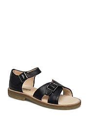 Sandal w. buckle - 1933 BLACK