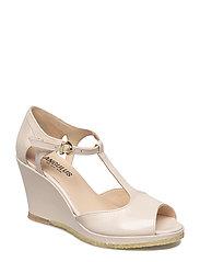 Sandals - wedgel - closed toe - 2334 POWDER