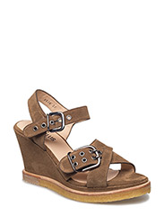Sandals - wedge - 1153 OLIVE