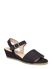 Sandals - flat - open toe - clo - 1200 BLACK