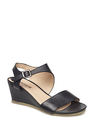 Sandals - wedge - open toe -  - 1604 BLACK