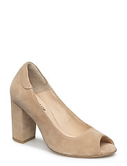Shoes - heel - with buckle - 1149 SAND