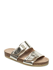 Sandals - flat - open toe - op - 1325 CHAMPAGNE