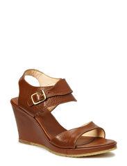 Wedge Sandal - 1968 Cognac