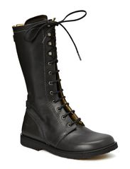 Long boot with laces. - 1934 Dark Grey